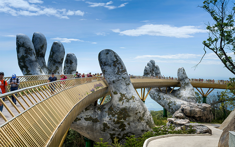 Top 10 Romantic Things To Do In Vietnam Golden Bridge