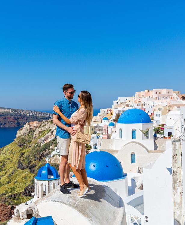 Most Instagrammable Honeymoon Destinations Santorini Honeymoon Packages