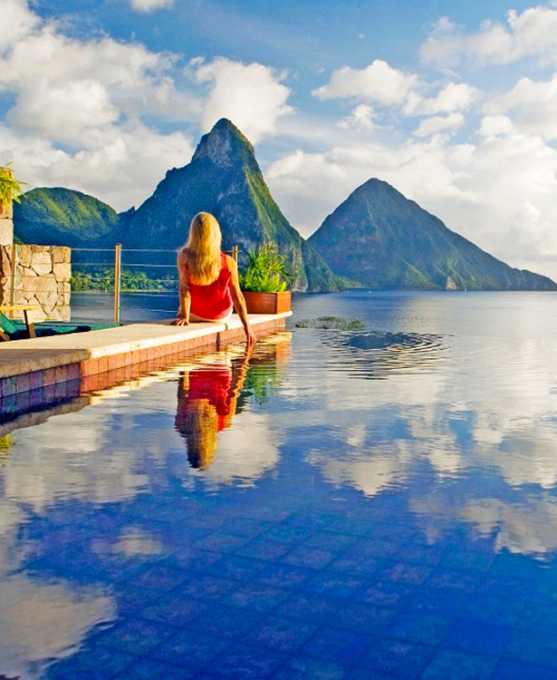 Most Instagrammable Honeymoon Destinations St Lucia Honeymoon Packages
