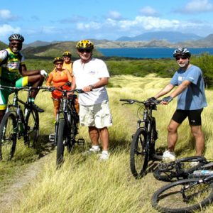 Nevis Honeymoon Packages Oualie Beach Resort Bike Riding