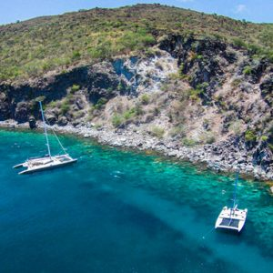 Nevis Honeymoon Packages Oualie Beach Resort Catamaran
