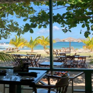 Nevis Honeymoon Packages Oualie Beach Resort Oualie Beach Restaurant