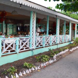 Nevis Honeymoon Packages Oualie Beach Resort Oualie Beach Restaurant Exterior