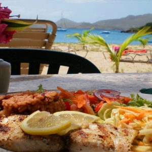 Nevis Honeymoon Packages Oualie Beach Resort Oualie Beach Restaurant Food With A View