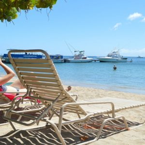 Nevis Honeymoon Packages Oualie Beach Resort Relaxing On Beach