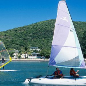 Nevis Honeymoon Packages Oualie Beach Resort Sailing