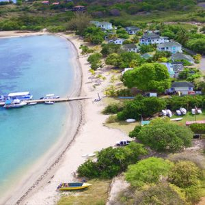 Nevis Honeymoon Packages Oualie Beach Resort Aerial View