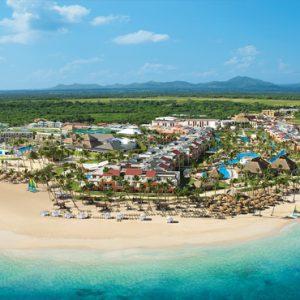 Dominican Republic Honeymoon Packages Breathless Punta Cana Resort & Spa Aerial View