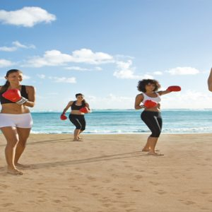 Dominican Republic Honeymoon Packages Breathless Punta Cana Resort & Spa Kickboxing On The Beach
