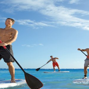 Dominican Republic Honeymoon Packages Breathless Punta Cana Resort & Spa Paddle Boarding By Day