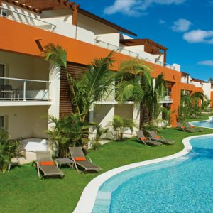 Dominican Republic Honeymoon Packages Breathless Punta Cana Resort & Spa Swimout Suites