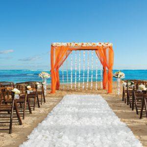 Dominican Republic Honeymoon Packages Breathless Punta Cana Resort & Spa Wedding Setup