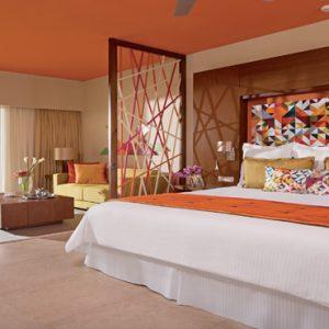 Dominican Republic Honeymoon Packages Breathless Punta Cana Resort & Spa Xhale Club Junior Suite Partial Ocean View