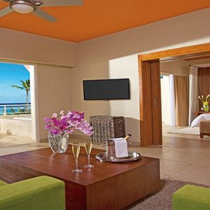 Dominican Republic Honeymoon Packages Breathless Punta Cana Resort & Spa Xhale Club Master Suite Oceanfront View