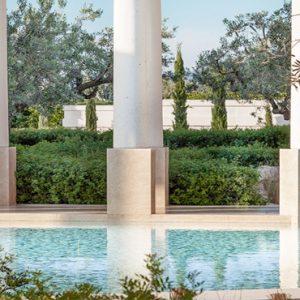 Greece Honeymoon Packages Amanzoe Colonnade