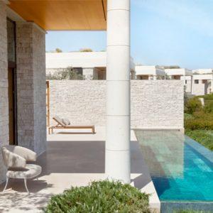 Greece Honeymoon Packages Amanzoe Deluxe Pool Pavilion Exterior Pool