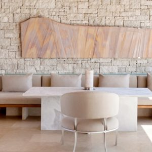 Greece Honeymoon Packages Amanzoe Deluxe Pool Pavilion Living Room