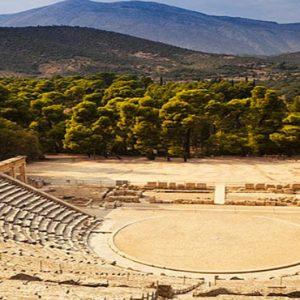 Greece Honeymoon Packages Amanzoe Greek Architecture