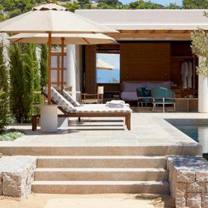 Greece Honeymoon Packages Amanzoe One Bedroom Beach Cabana Exterior