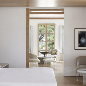 Greece Honeymoon Packages Amanzoe One Bedroom Villa Bedroom
