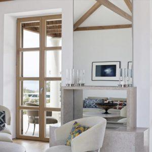 Greece Honeymoon Packages Amanzoe One Bedroom Villa Living Room