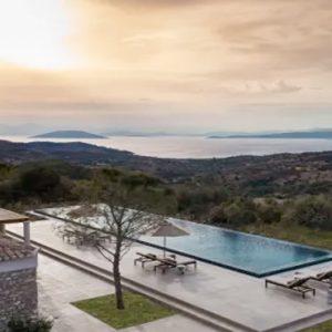 Greece Honeymoon Packages Amanzoe One Bedroom Villa Overview