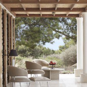 Greece Honeymoon Packages Amanzoe One Bedroom Villa Terrace