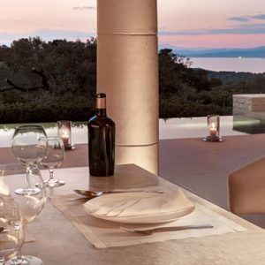 Greece Honeymoon Packages Amanzoe Pavilion Dining