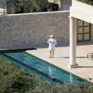 Greece Honeymoon Packages Amanzoe Pavilions Terrace