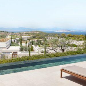 Greece Honeymoon Packages Amanzoe Pool Pavilion Premium View Exterior Pool