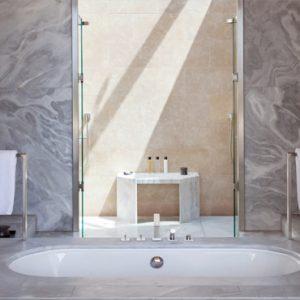 Greece Honeymoon Packages Amanzoe Pool Pavilion Bathroom