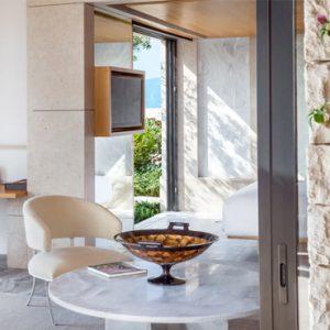 Greece Honeymoon Packages Amanzoe Pool Pavilion Bedroom