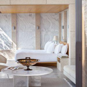 Greece Honeymoon Packages Amanzoe Pool Pavilion Bedroom1