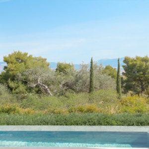 Greece Honeymoon Packages Amanzoe Pool Pavilion Exterior Pool