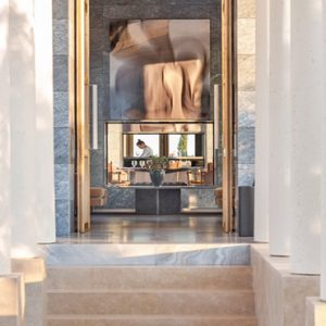 Greece Honeymoon Packages Amanzoe Restaurant Exterior