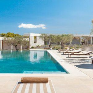 Greece Honeymoon Packages Amanzoe Villas Pool