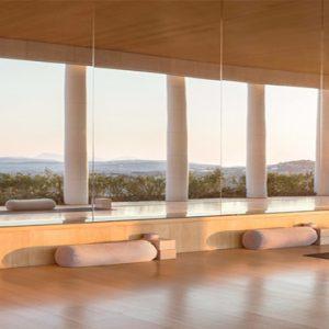 Greece Honeymoon Packages Amanzoe Yoga Pavilion