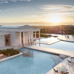 Greece Honeymoon Packages Amanzoe Hotel Overview