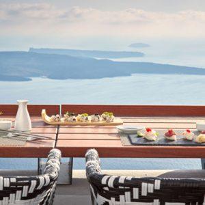 Greece Honeymoon Packages Chromata Hotel Santorini Chroma Champagne Bar & Sushi
