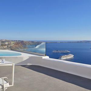 Greece Honeymoon Packages Chromata Hotel Santorini Chromata Pool Suite3