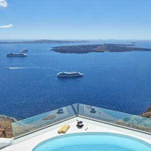 Greece Honeymoon Packages Chromata Hotel Santorini Chromata Pool Suite4