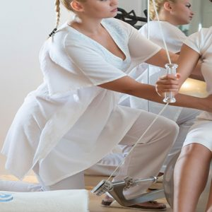 Greece Honeymoon Packages Chromata Hotel Santorini Fitness1