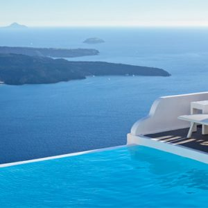 Greece Honeymoon Packages Chromata Hotel Santorini Pool