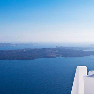 Greece Honeymoon Packages Chromata Hotel Santorini Sea View