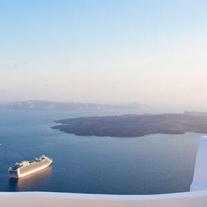 Greece Honeymoon Packages Chromata Hotel Santorini Sea View1