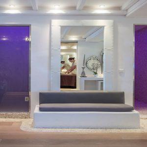 Greece Honeymoon Packages Chromata Hotel Santorini Spa Entrance