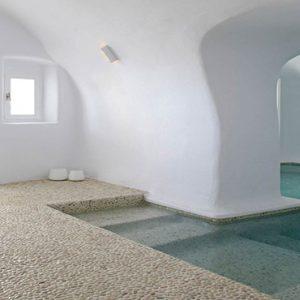 Greece Honeymoon Packages Chromata Hotel Santorini Spapool