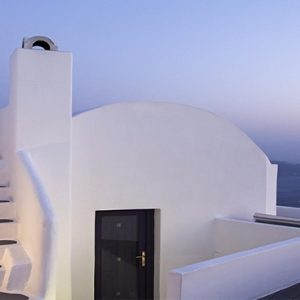 Greece Honeymoon Packages Chromata Hotel Santorini View At Night