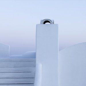 Greece Honeymoon Packages Chromata Hotel Santorini White Walls Interior