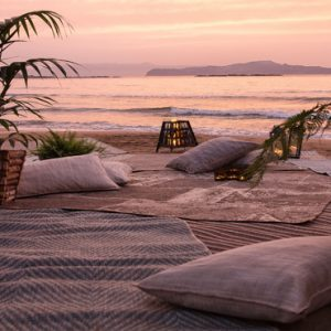 Greece Honeymoon Packages Domes Noruz Chania Beach At Sunset